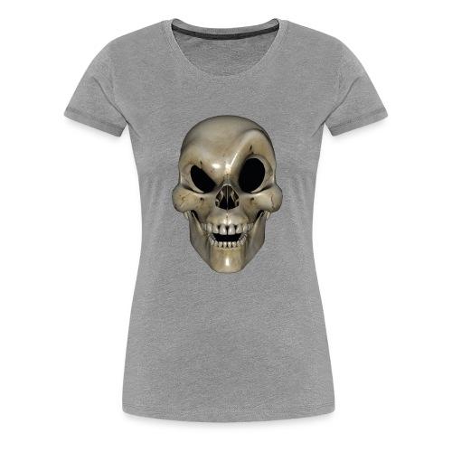 Smart Skull - Premium T-skjorte for kvinner