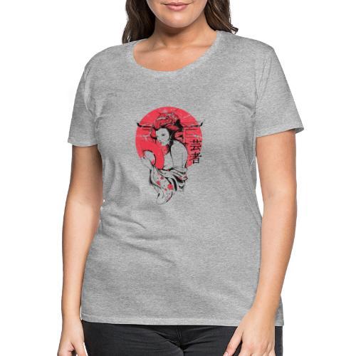 Japan Sonne - Frauen Premium T-Shirt