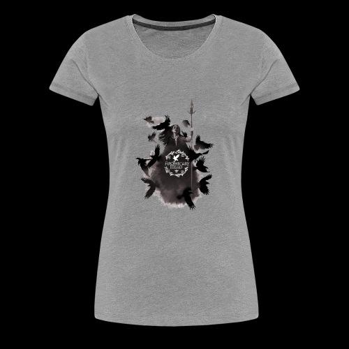 Morrigan final t shirt logo - Women's Premium T-Shirt