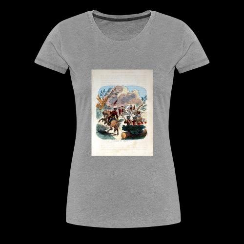 Military2 - Women's Premium T-Shirt