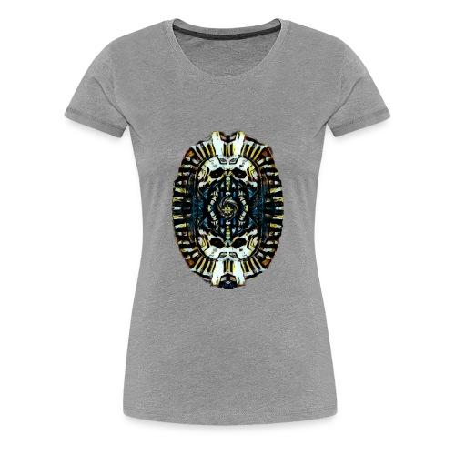 Steampunk Pharao - Frauen Premium T-Shirt