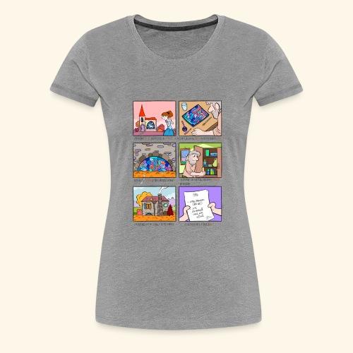 Exception des pluriels en AIL - T-shirt Premium Femme