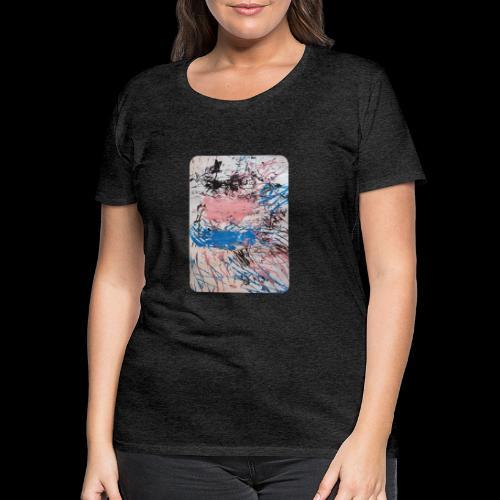Emelie Kunstwerk V. - Frauen Premium T-Shirt