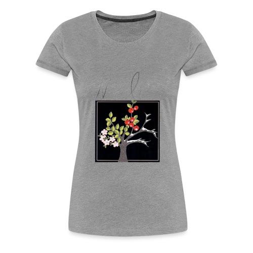 Natur bewegt. Die 4 Jahreszeiten. - Frauen Premium T-Shirt