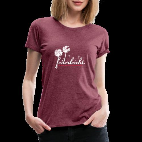geweihbär Federleicht - Frauen Premium T-Shirt