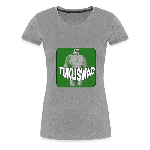 Tukuyaki Swag - Vrouwen Premium T-shirt