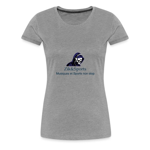 Zik&Sports - T-shirt Premium Femme