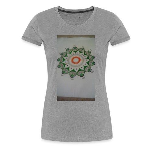 Freehand pattern by josef - Women's Premium T-Shirt