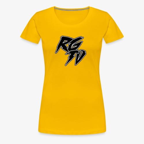 RGTV LOGO - Women's Premium T-Shirt