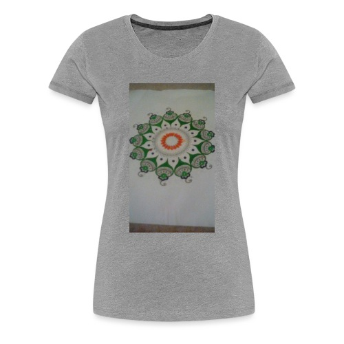 Freehand pattern by josef - Women's Premium T-Shirt