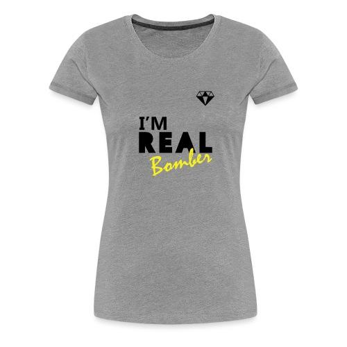 REAL Bomber - Maglietta Premium da donna
