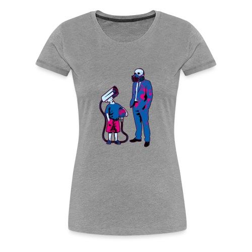 Littele Brother Big Brother - Vrouwen Premium T-shirt