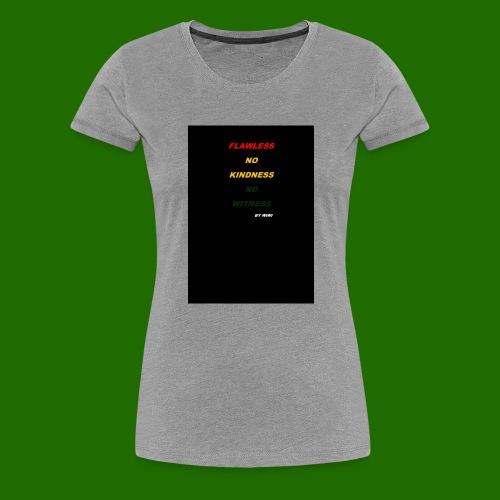 Yellow RED - T-shirt Premium Femme