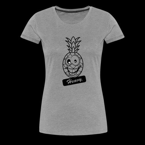 Design Ananas Heavy - T-shirt Premium Femme