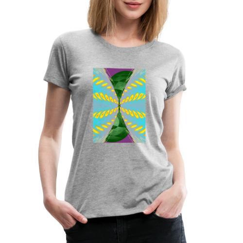 Tornado, Abstract art, Abstract Expressionism - Frauen Premium T-Shirt