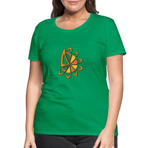 spicchi di sole caldo multicolore - Maglietta Premium da donna