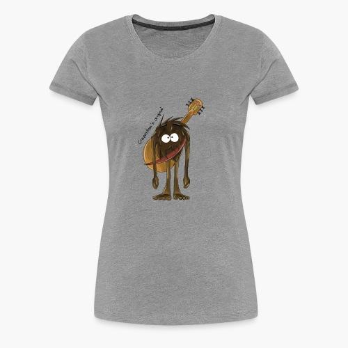 crapouillou texte - T-shirt Premium Femme