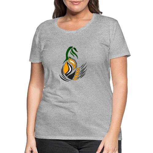 disegno decorativo bocciolo - Maglietta Premium da donna