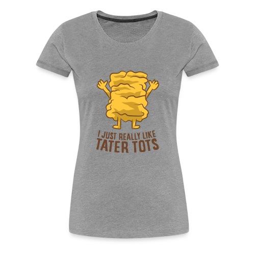 Hot taters potatoes recipe - Women's Premium T-Shirt