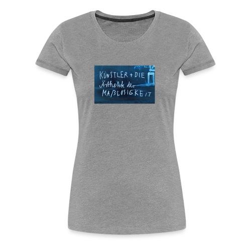 Künstler und die Ästhetik - Frauen Premium T-Shirt