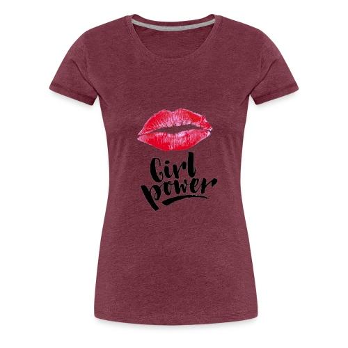 Girl Power - T-shirt Premium Femme