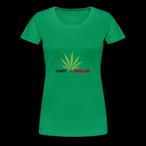 parodie adopte un mec - T-shirt Premium Femme
