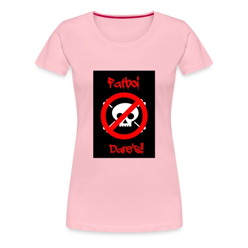 Fatboi Dares's logo - Women's Premium T-Shirt