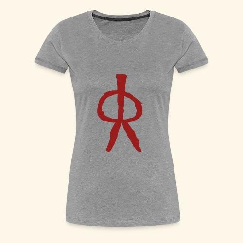Pintura Rupestre - Camiseta premium mujer