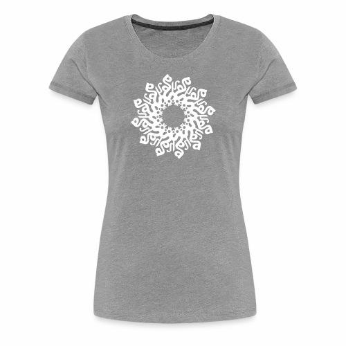 Mandala SOHAM - Frauen Premium T-Shirt