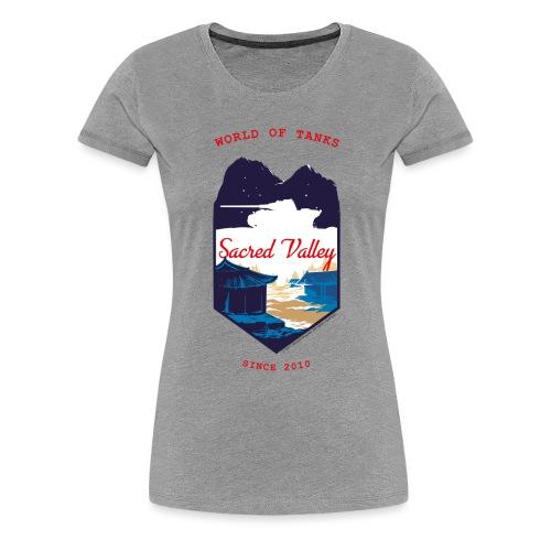 World of Tanks Sacred Valley - Women's Premium T-Shirt