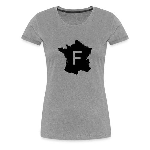 France noir - T-shirt Premium Femme