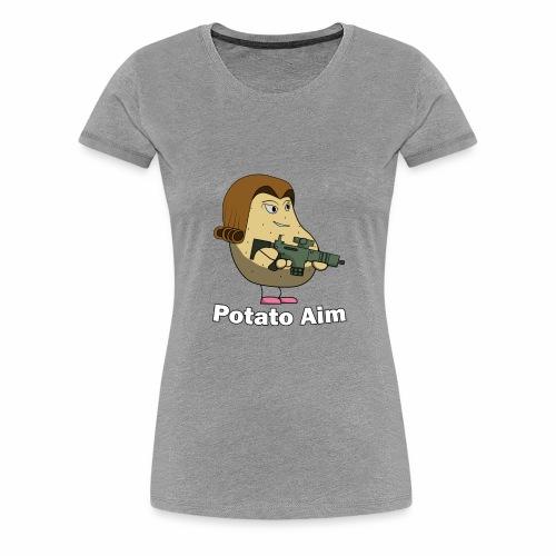 Mrs Potato Aim - Women's Premium T-Shirt