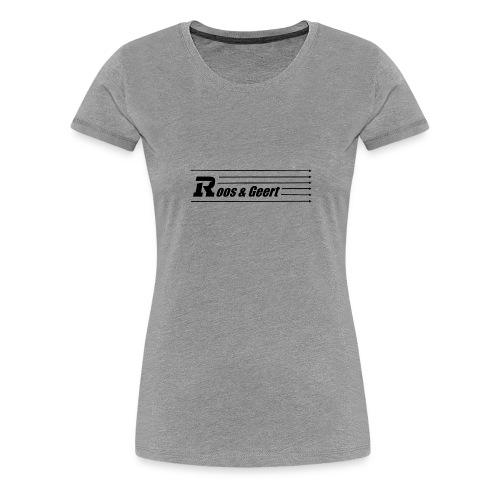 Roos & Geert - Vrouwen Premium T-shirt