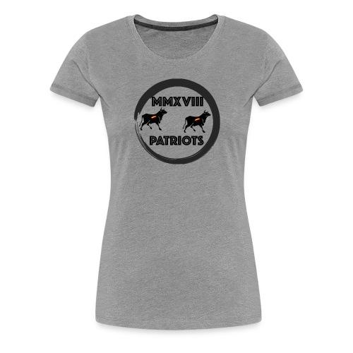 Patriots mmxviii - Camiseta premium mujer
