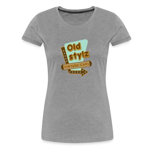 old Stylz Vintage Cars - T-shirt Premium Femme