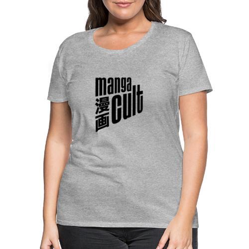 Manga Cult Logo Schwarz - Frauen Premium T-Shirt