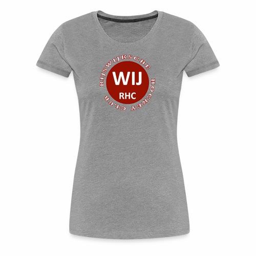 RIJSWIJKSCHE HOCKEY CLUB - Vrouwen Premium T-shirt