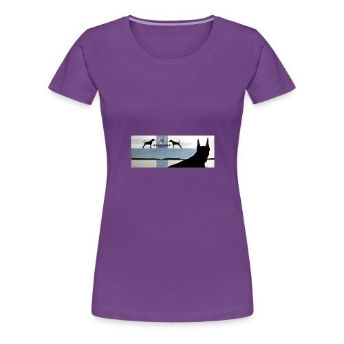 FBtausta - Naisten premium t-paita