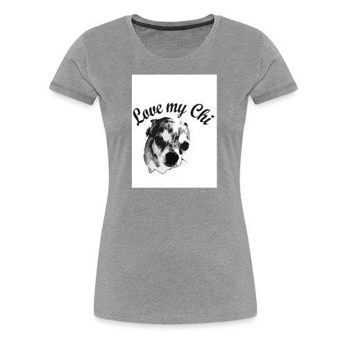 love my chi - Frauen Premium T-Shirt