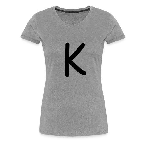 K - Frauen Premium T-Shirt