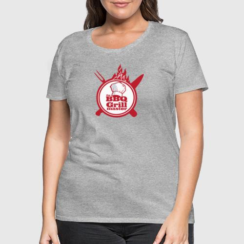 The BBQ Grill master - Dame premium T-shirt