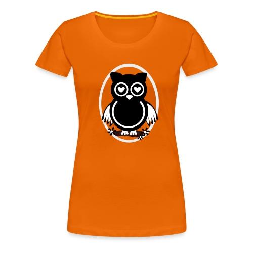 Eule Lilli - Frauen Premium T-Shirt