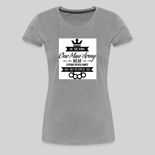 Tanktop LOGO KLASYK biały - Koszulka damska Premium