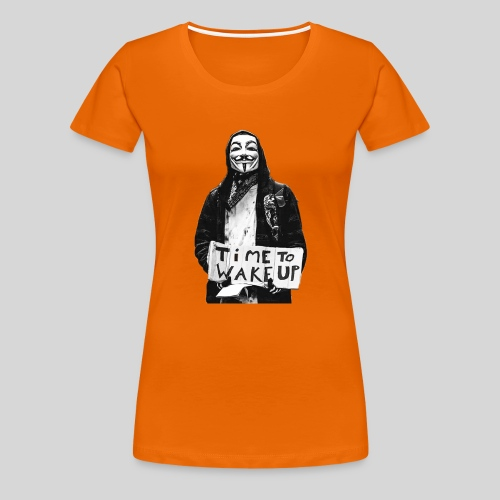 Time to wake up - T-shirt Premium Femme