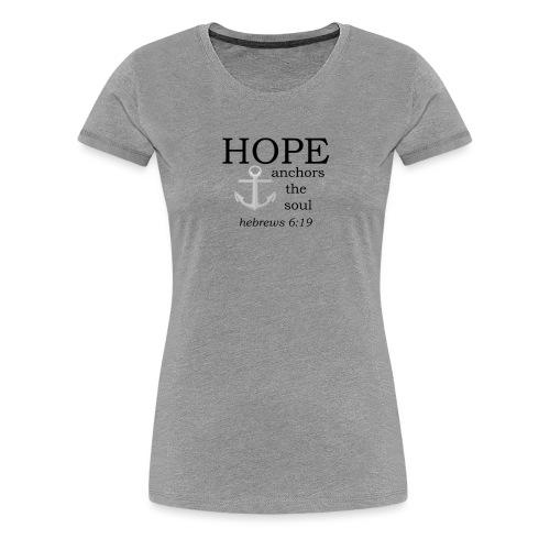 'HOPE' t-shirt - Women's Premium T-Shirt