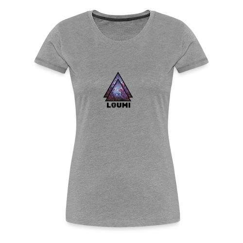 galaxy LOUMI series - Vrouwen Premium T-shirt