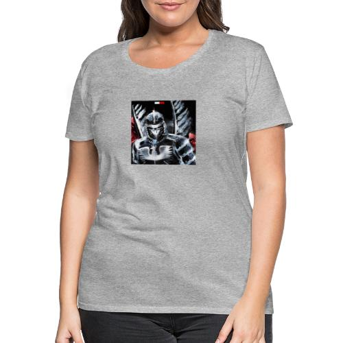 koszulka patriotyczna husaria - Koszulka damska Premium