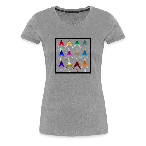 Noordpijlen - Vrouwen Premium T-shirt