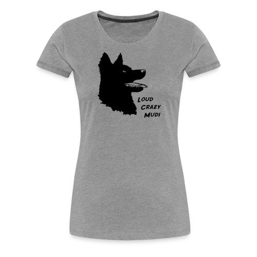mudiheadschrift - Women's Premium T-Shirt