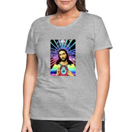 Neon Jesus - Women's Premium T-Shirt